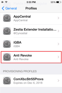 Download Anti Revoke Profile VPN For iOS/Android to Stop App