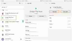 Clear-Data-Cache-of-Google-PlayStore