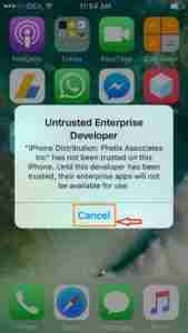 Click-on-Cancel-Untrusted-Enterprise-Developer