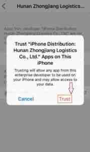 Tap-on-Trust
