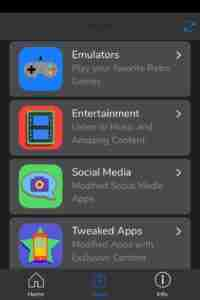 Categories-in-Apps-Section