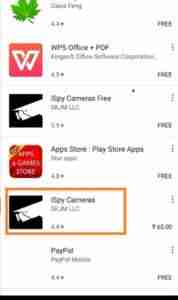 Search-For-iSpy-Camera