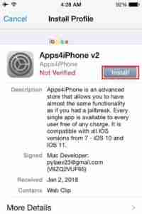 Click-Install-for-AppStore-Install