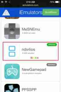 Click-on-NDS4IOS-Emulator
