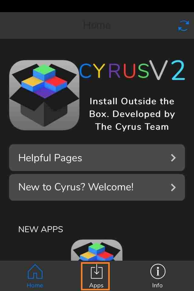 Install Cyrus Installer on iPhone/iPad | Download Cyrus Install iOS
