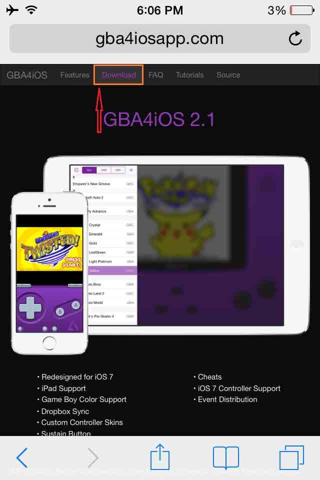 Download GBA4iOS For iOS | Install GBA4iOS Emulator on iPhone/iPad
