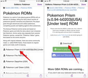 Download-Retro-Game-using-GBA4iOS