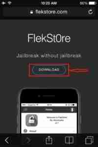 Click-on-FlekStore-Download-Button