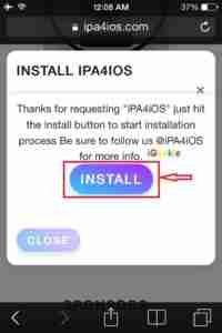Click-on-Install-to-Download-iPA4iOS