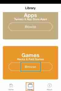 Tap-on-Games-Section-to-get-Happy-Chick-Download-iOS