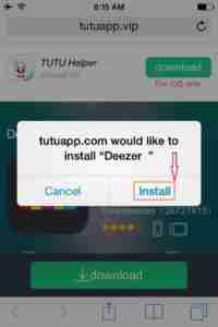 Tap-on-Install
