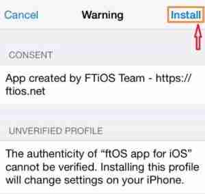 Install ftOS on iPhone/iPad | Download ftOS For iOS