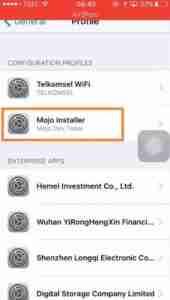 Tap-on-Mojo-Installer