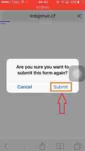 Click-on-Submit-option