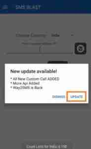 Tap-on-Update