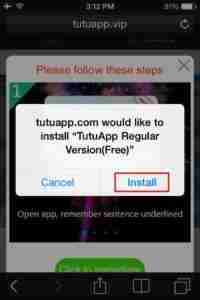 Tap-on-Install-TutuApp-Free