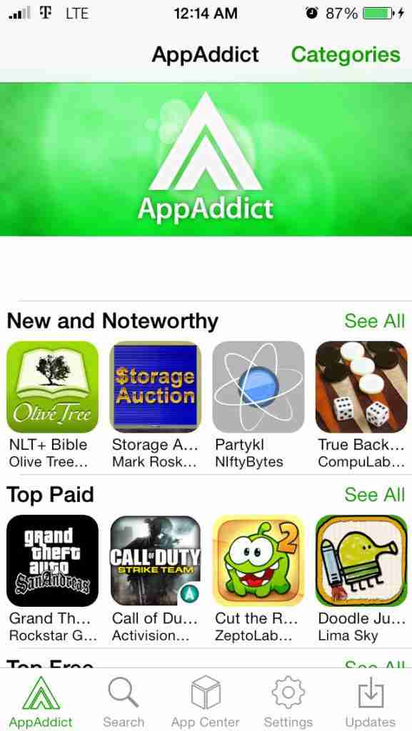 Install AppAddict For iOS | Download AppAddict on iPhone/iPad