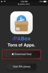 Click-on-iPABox-Download-Now-option