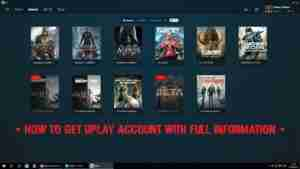 How to get uPlay Premium Accounts