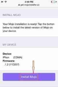 Download Mojo Installer For iPhone/iPad | Install Mojo