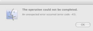 Mac-Error-Code-43