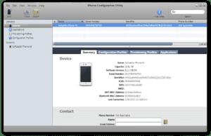 iPhone-Configuration-Utility