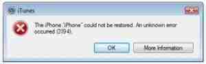Fix-Error-3194-on-iTunes