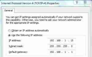 Change-IP-Address-Server