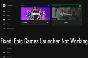 Fix-Epic-Games-Launcher-Not-Working
