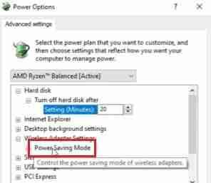 Using-The-Power-Saving-Mode