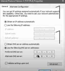 Changing-DNS-settings