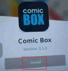Installing-The-Comic-Box-App-In-Android