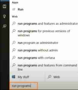 Type-Run-Programs