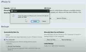 Update-Using-iTunes