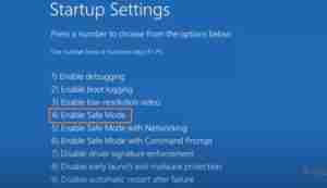 Click-On-Enable-Safe-Mode