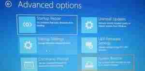Click-On-System-Restore-Option
