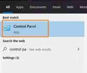 Click-On-Control-Panel