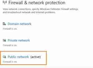 Click-On-Public-Network