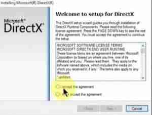 DirectX-Setup