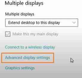 Click-On-Advanced-Option