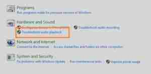 Click-On-Troubleshoot-Audio-Playback