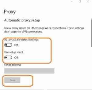 Automatic-Proxy-Setup