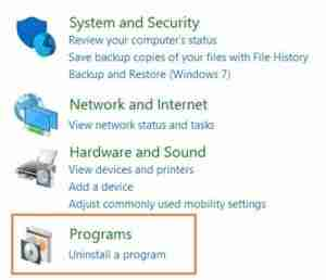 Click-On-Uninstall-A-Program