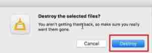 Click-On-Destroy-To-Delete-Unwanted-Files