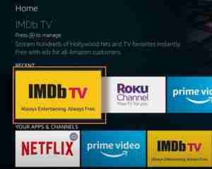 Click-On-IMDb-TV