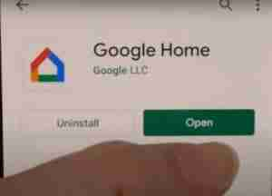 Install-and-Open-Google-Home-App