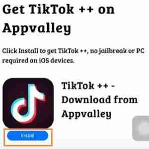 Installing-TikTok++-Using-AppValley