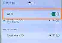 Turn-ON-Wi-Fi-Option