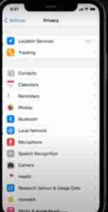 iPhone-Privacy-Settings