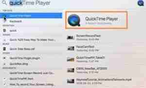 Click-QuickTime Player